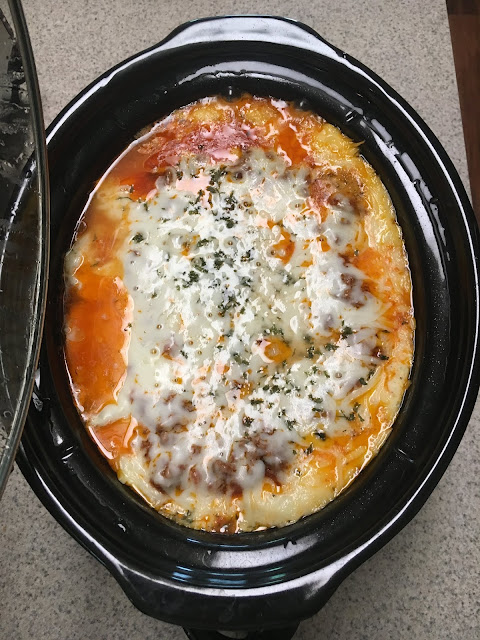 Crock Pot Lasagna is easy to make and just like regular oven lasagna