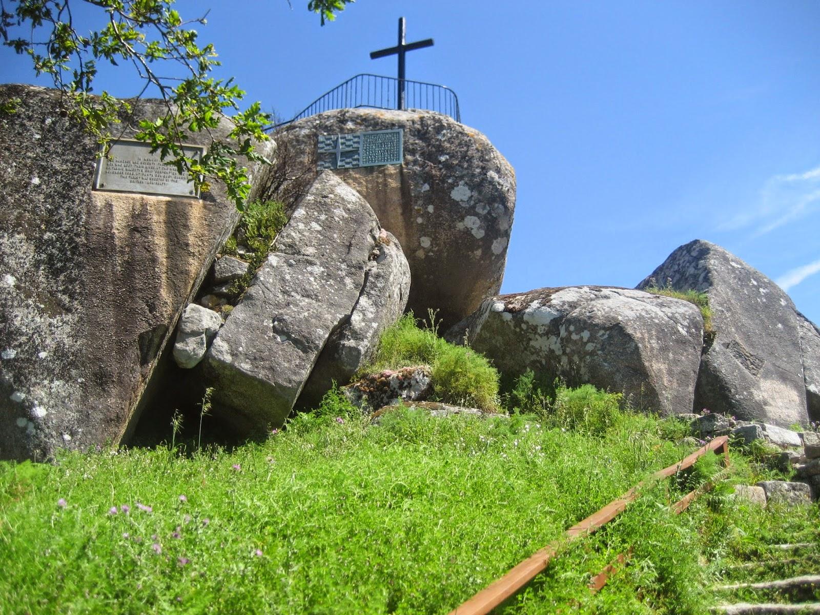Mirador del Monte Lobeira en Vilanova de Arousa