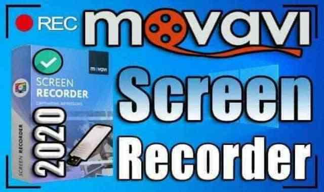 تحميل برنامج Movavi Screen Recorder 21.4 Portable اخر اصدار نسخة محمولة مفعلة