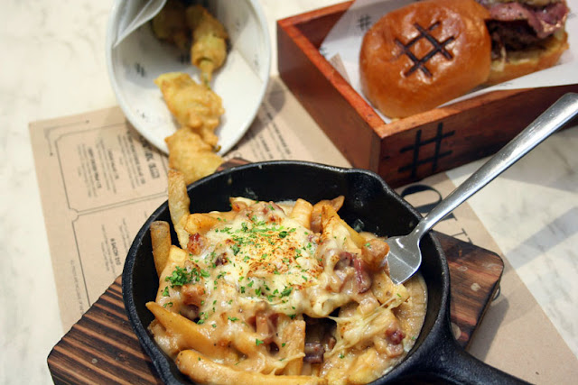 Pound by Todd English SM Megamall Bacon Poutine