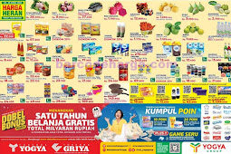 Katalog Promo Toserba Yogya Weekend Terbaru 10 - 12 April 2020
