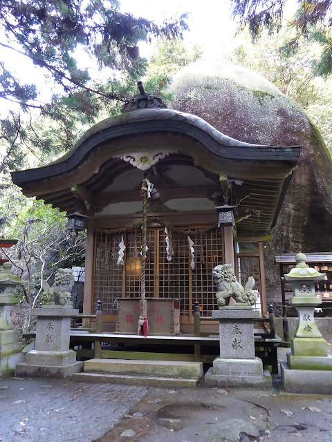 磐船神社 拝殿