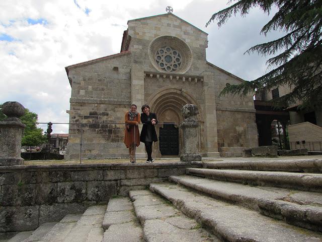 Fachada do Mosteiro do Salvador de Paço de Sousa