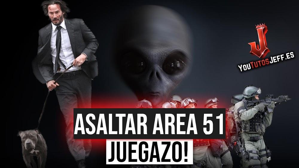 Como Asaltar el ÁREA 51 con Keanu Reeves, Raiding Area51
