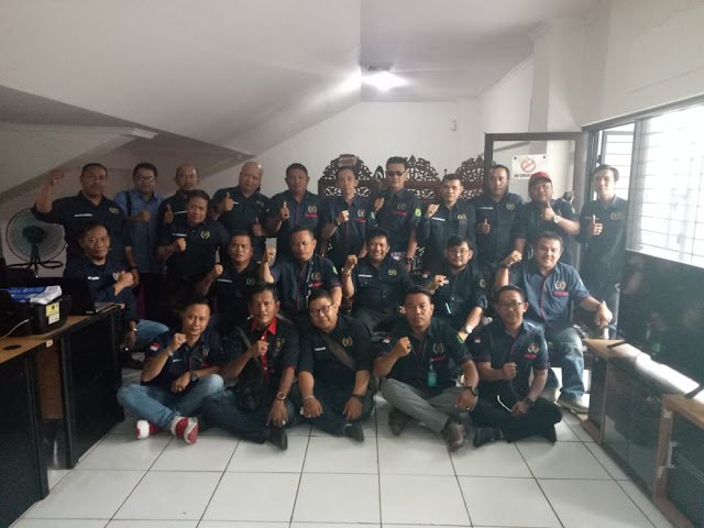PWI Muba Studi Banding ke PWI Kota Bandung