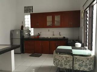 Dapur - Rumah Second Murah Di Tasbi 1 Medan - Fully Furnished - Mulus Dan Terawat