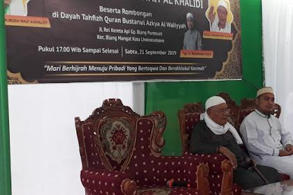 Abuya Mawardi Waly Resmikan Dayah Tahfiz Al-Quran Bustanul Azkiya Al-Waliyyah