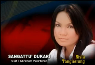 Lirik Lagu Toraja Sangattu' Dukari (Rista Tangirerung)