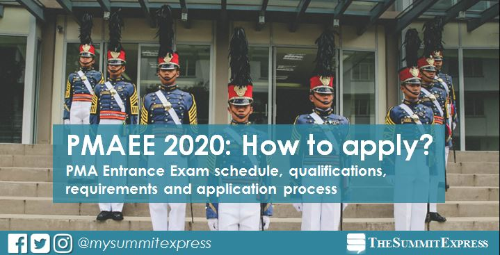 PMA Entrance Exam PMAEE 2020: requirements