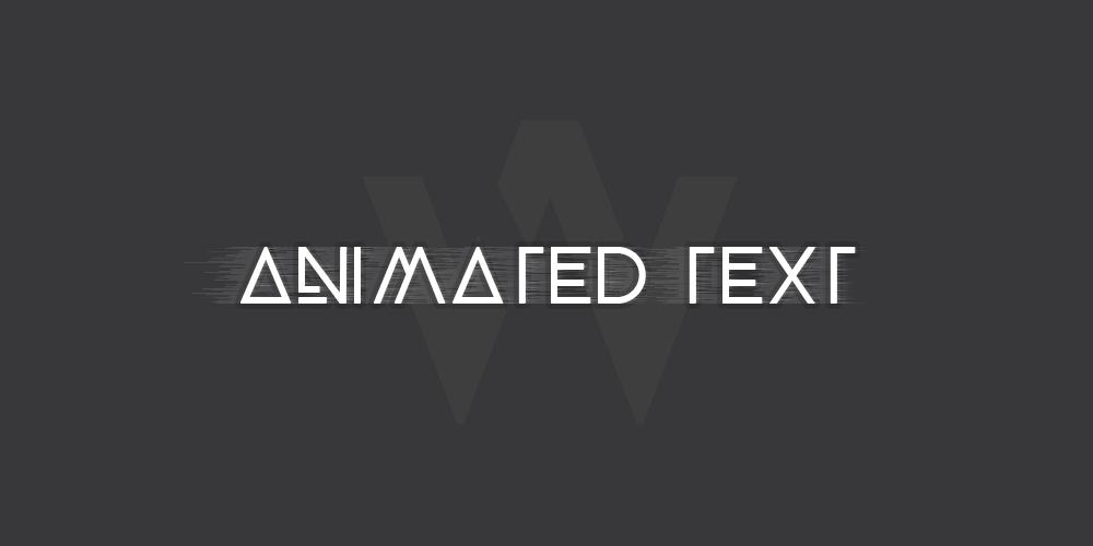 Tạo hiệu chứ chữ cuộn lên xuống đẹp và đơn giản bằng CSS3