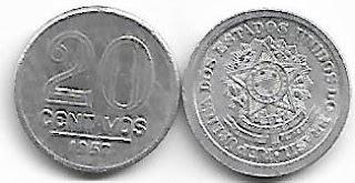 20 centavos, 1957