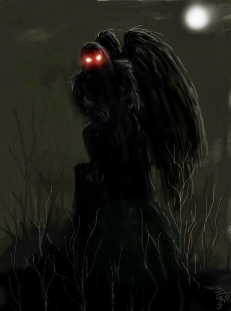 Monster Island News: History's Creatures: Sighting the Mothman