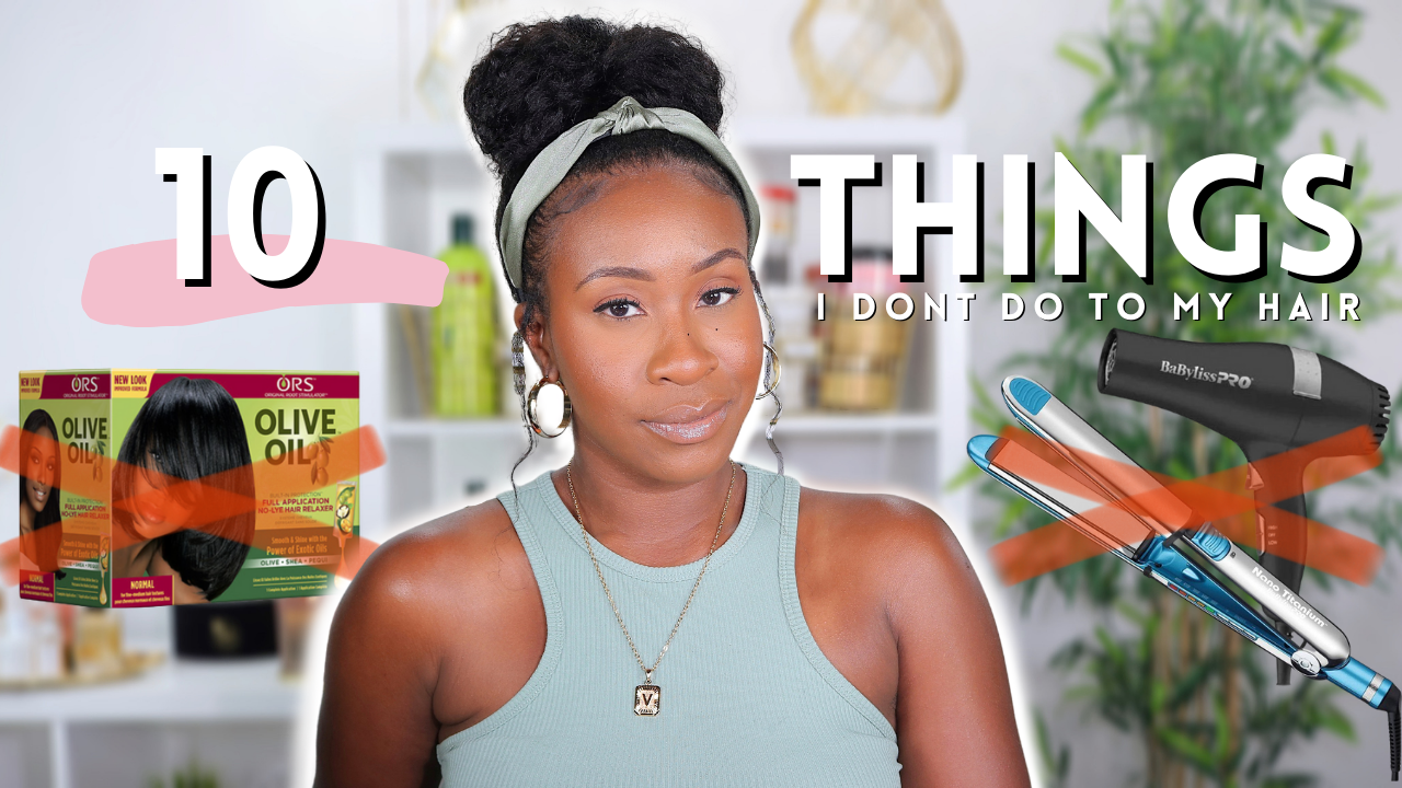10 Things I Don't Do To My Relaxed Hair & The Reasons Why... | www.HairliciousInc.com