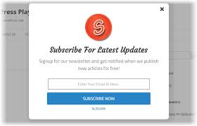 use popup on your blog