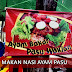 Makan Nasi Ayam Pasu Di Ayam Bakar Pasu Waklan, Kuala Lumpur