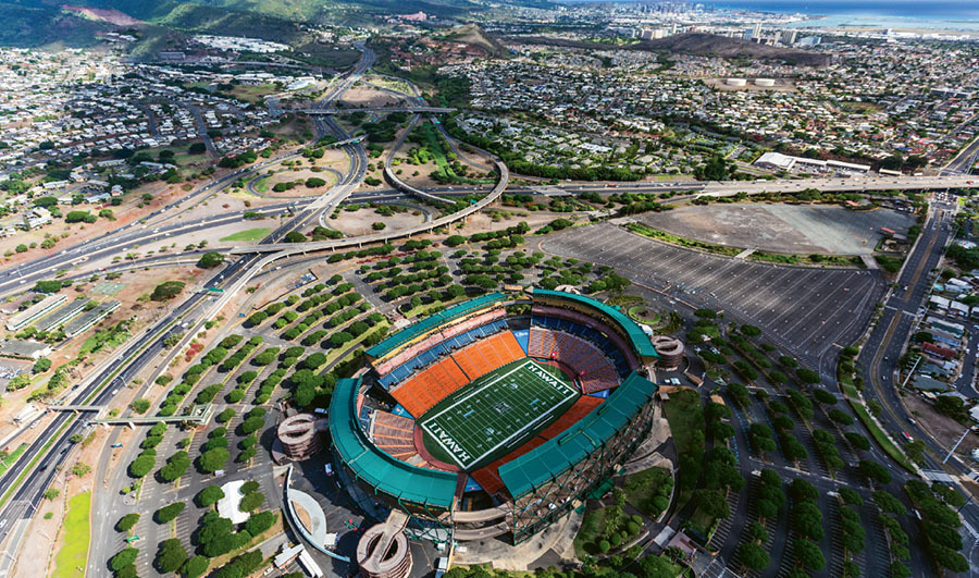 hawaii progetto nuovo stadio