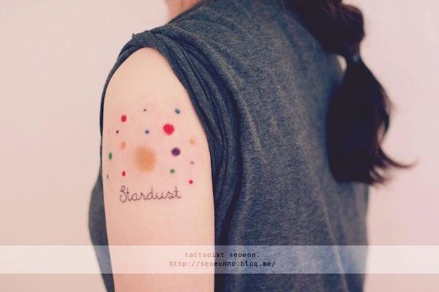Sugestões de tatuagens minimalistas