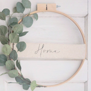 decorative embroidery hoop