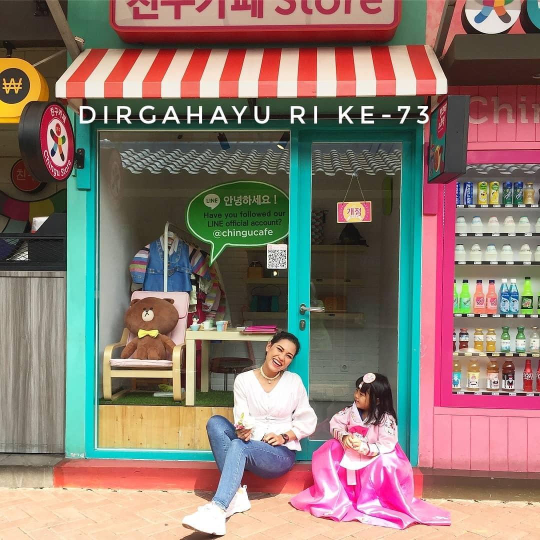 spot foto chingu cafe bandung