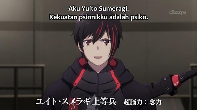 Scarlet Nexus Episode 01 Subtitle Indonesia