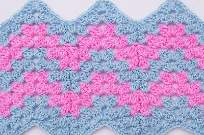 1 - Crochet Imagen Puntada zig zag a crochet por Majovel Crochet