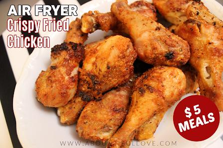 Air Fry Crispy Fried Chicken