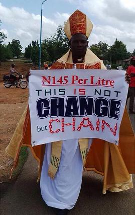 anglican bishop protest buhari osogbo