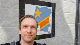 Me in Kinshasa