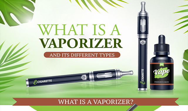 What is a Vaporizer and it's Different Types #infographic