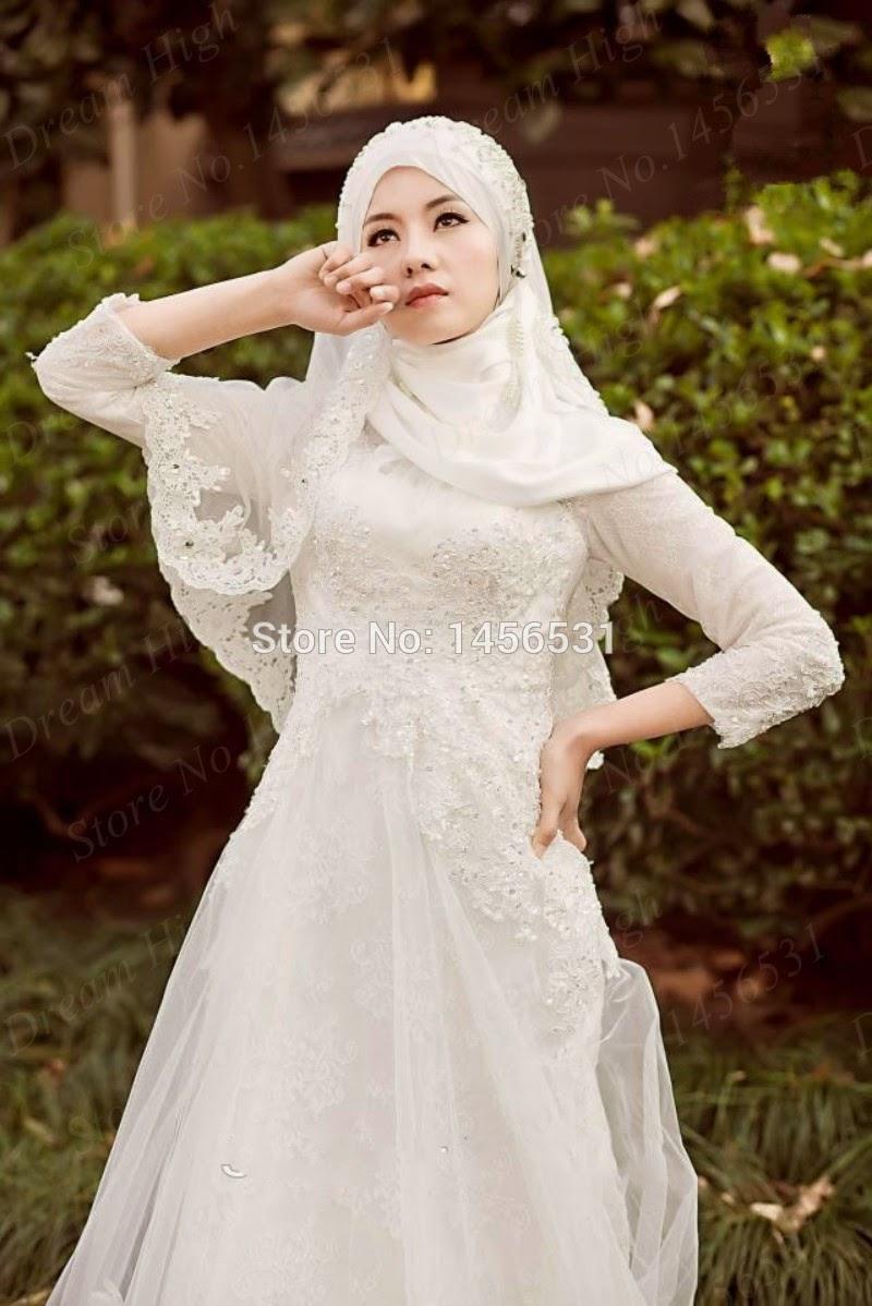 Baju Pengantin Muslim Trend 2017