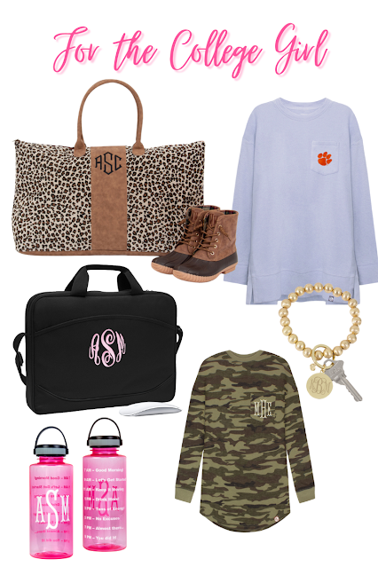 Back to School Monograms for the College Student