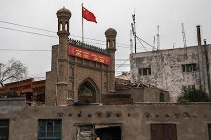 Ribuan Masjid di Xinjiang Dihancurkan, Termasuk Masjid Bersejarah Dibangun Tahun 1540: Jadi Lahan Parkir