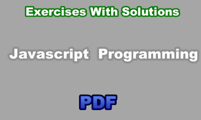Javascript Programming Exercises With Solutions PDF