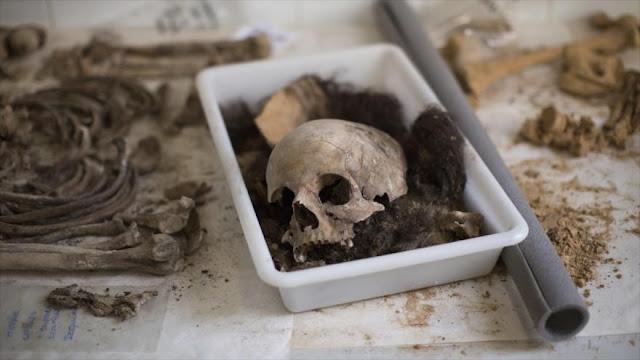 España exhuma restos de víctimas de la dictadura franquista