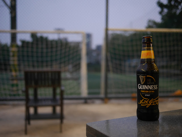 Bottle of Guinness Foreign Extra Stout