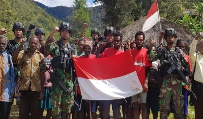 26 Anggota Teroris Bersenjata Papua Kembali ke NKRI