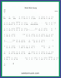 not angka wak wak gung lagu daerah jakarta