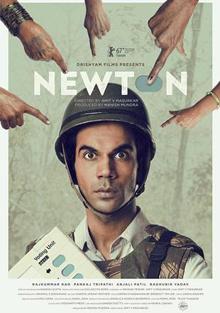 Newton 2017 Full Hindi Movie Download BRRip 720p ESub