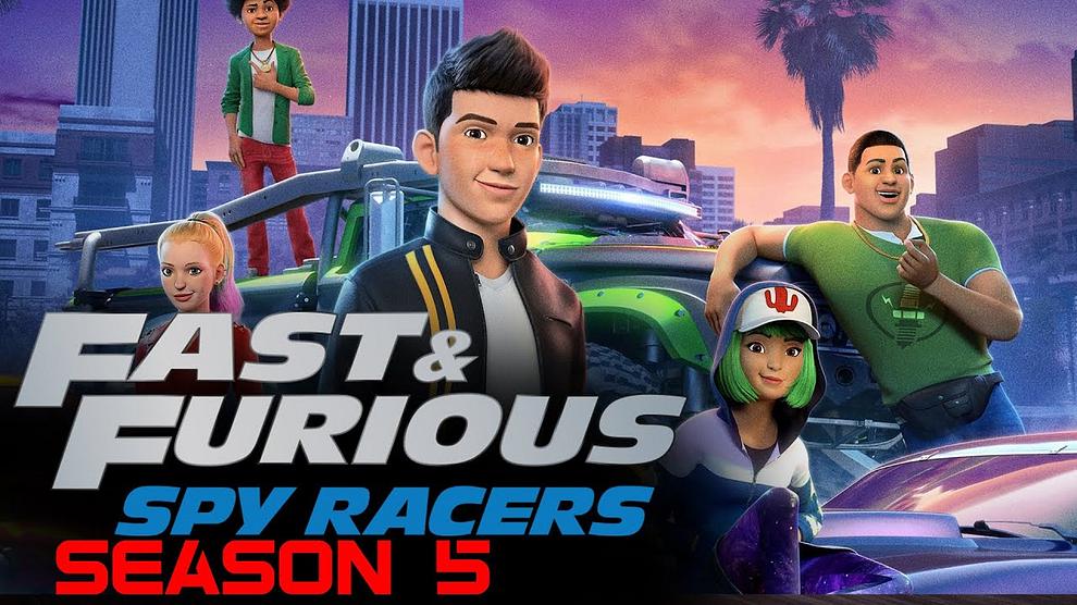 Download Netflix Fast & Furious: Spy Racers (Season 1 – 5) Dual Audio {Hindi-English} 720p Web-DL [220MB]