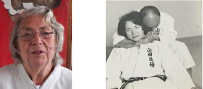 Betty MacClafferty - Newport Judo's Honored Roll