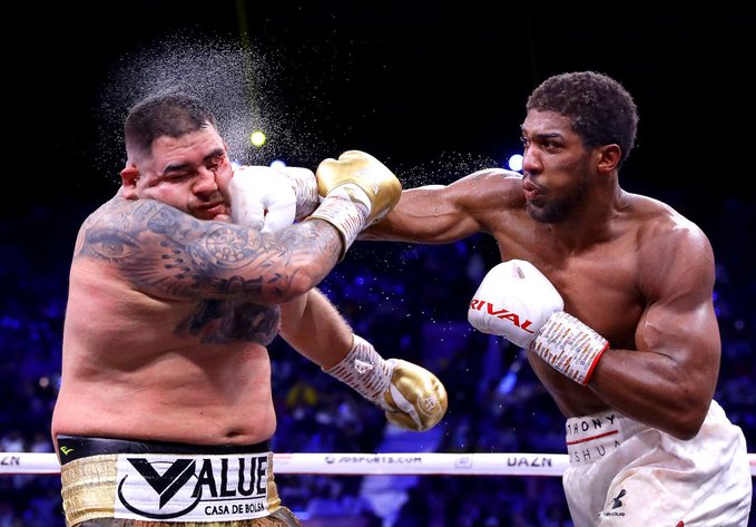 Anthony Joshua beats Andy Ruiz Jr in Saudi Arabia to become two-time heavyweight champ
