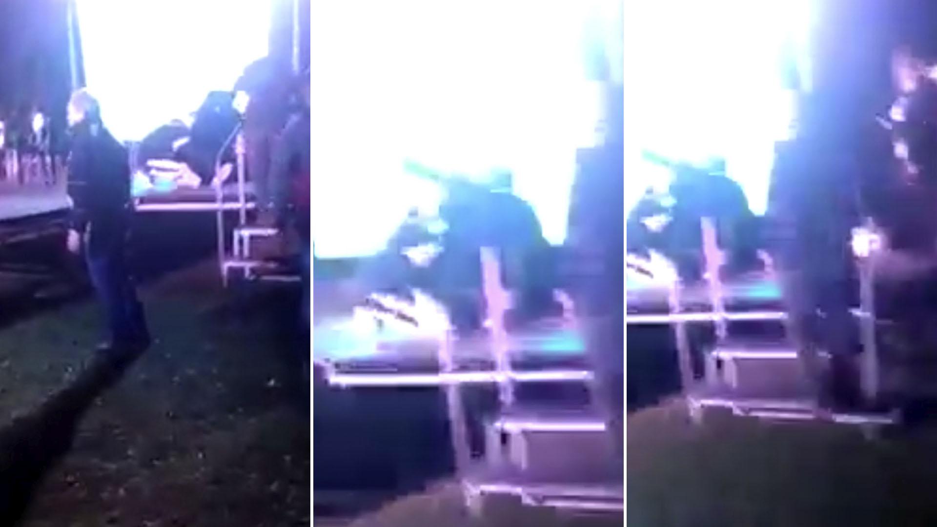 VIDEO: así balearon al diputado correntino Miguel Arias