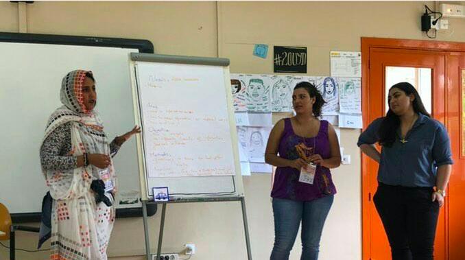 إتحاد الشبيبة ينشط محاضرات حول القضية الصحراوية ضمن فعاليات الطبعة الثالثة من البرنامج الدولي لتدريب الشباب على القيادة.