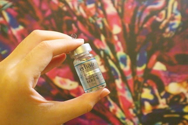 Erhair Hair Grow Serum Packaging