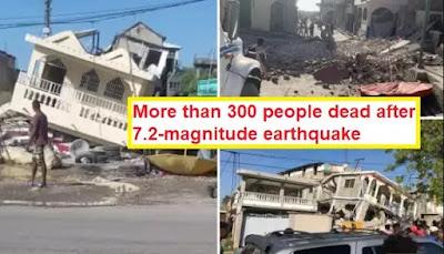 Quake kills hundreds in Haiti 7.2-magnitude earthquake 2021