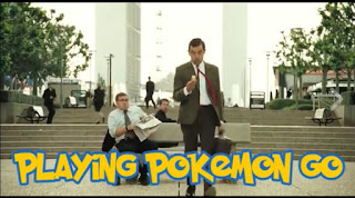 Mr Bean Main Game Pokemon Go