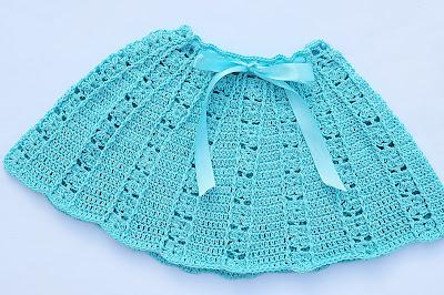 1 - Crochet Imagen Falda a conjunto con blusa veraniega a crochet y ganchillo por Majovel Crochet