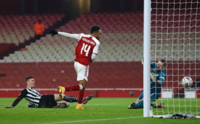 FA Cup: Arsenal Crush Newcastle in Period of Grace to Progress to Next Round