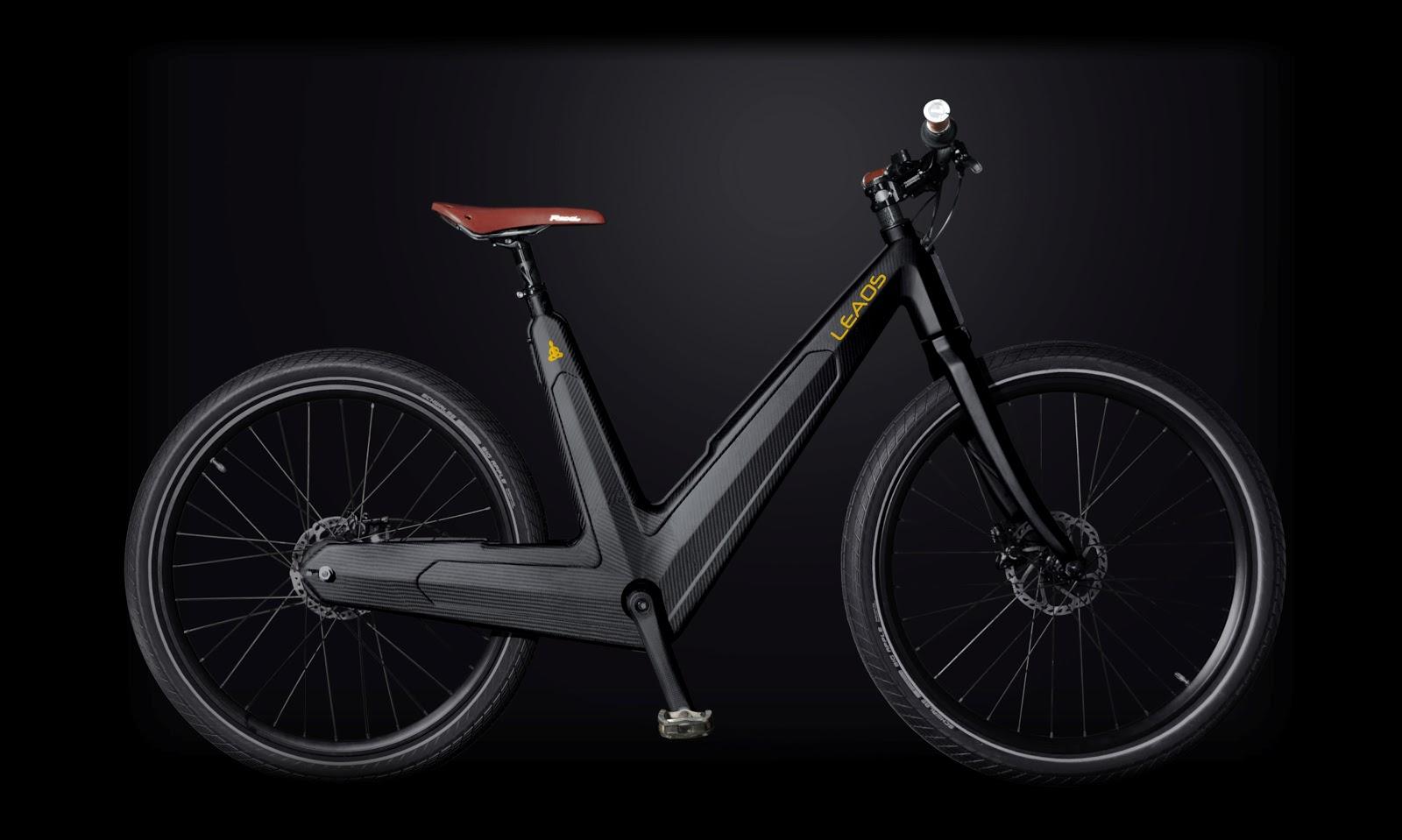 leaos a design carbon electric bike greenstylo. Black Bedroom Furniture Sets. Home Design Ideas