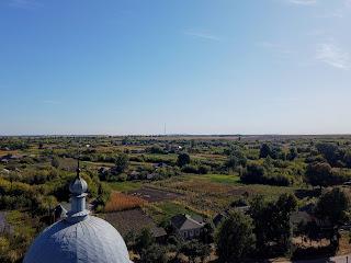Мирополье. Свято-Николаевская церковь. Вид с колокольни